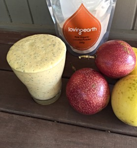 Passionfruit and Lucuma Smoothie