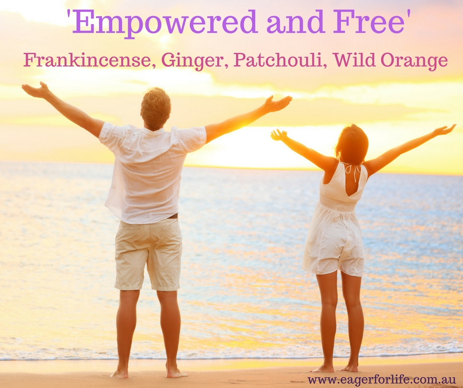 'Empowered and Free' diffuser blend