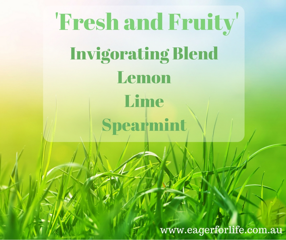 Fresh and Fruity diffuser blend