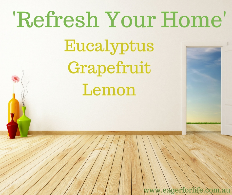 Refresh Your Home Diffuser Blend