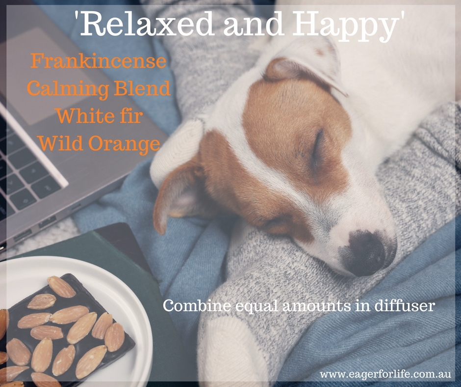 'Relaxed and Happy' diffuser blend