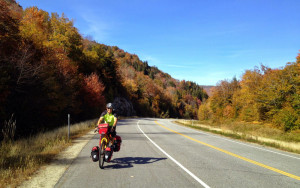 Bike touring in New England