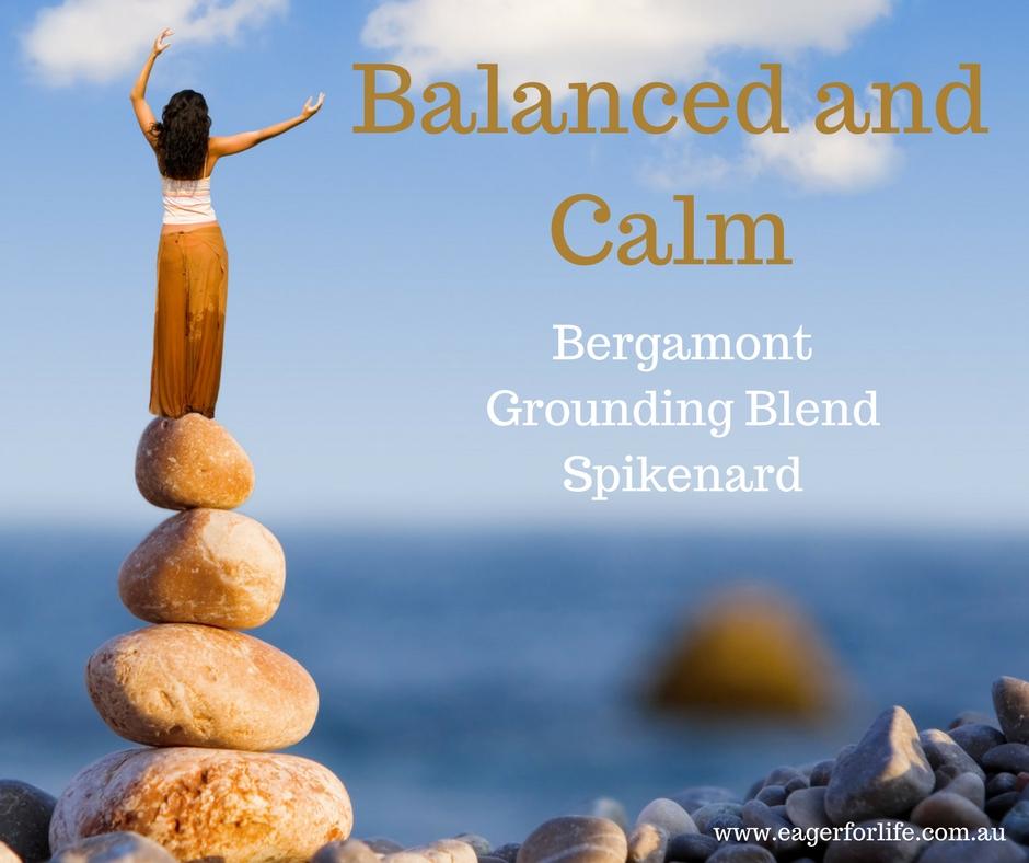 Balanced and Calm diffuser blend