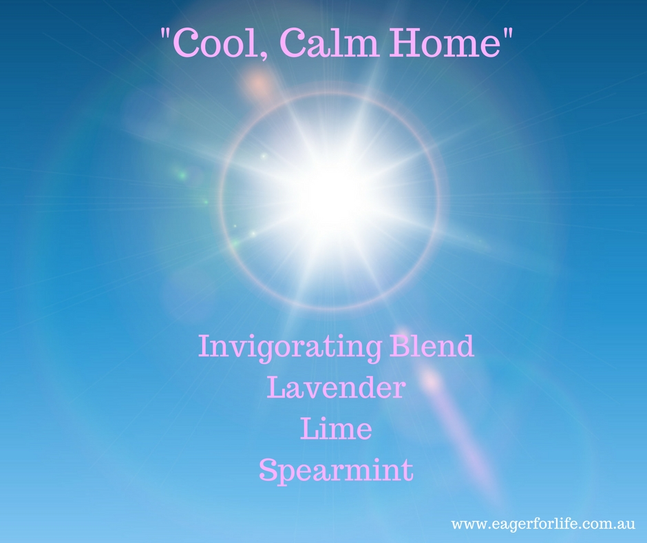 Cool, Calm Home diffuser blend