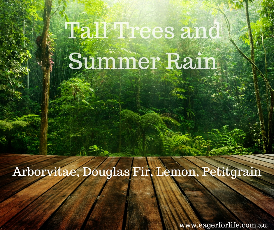 Tall Trees and Summer Rain diffuser blend