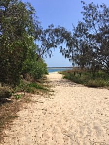 Path down to beach