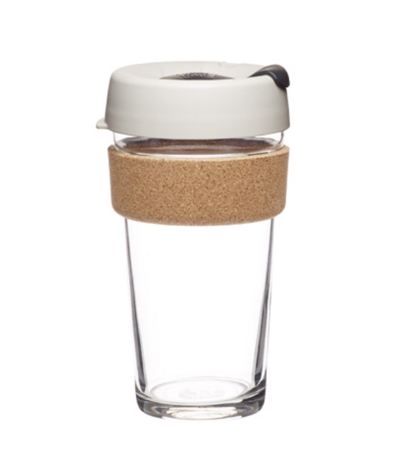 glass eco friendly coffee cup