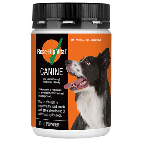 rose hip vital for dogs