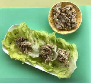 Not Tuna Lettuce Cups
