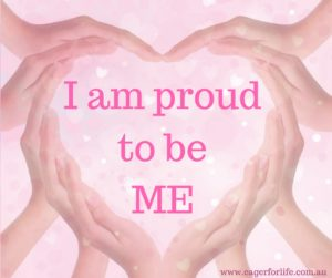 IAM PROUD TO BE ME