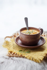 Cauliflower and Millet soup
